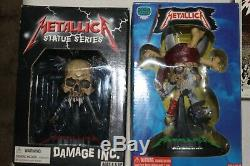 The Ultimate Metallica Lot Including Brand New Box Set & All 4 Action Figures