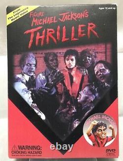 Thriller Michael Jackson & Zombie Michael PVC 7 figure set Canyon Crest