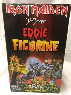 Top Shelf Collectibles Iron Maiden The Trooper Eddie Figurine New In Box Vhtf