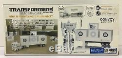 Transformers Music Label Optimus Prime Convoy Docking Bay Speakers G1 Color Ver