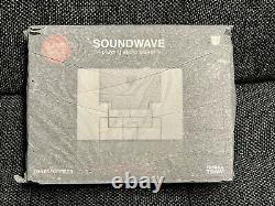 Transformers Soundwave Music Label MP3 Player Black Blaster Soundblaster Takara