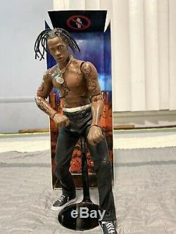 Travis Scott Action Figure Opened Excellent Condition