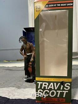 Travis Scott Action Figure Opened Excellent Condition