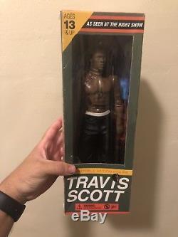Travis Scott Action Figure Rodeo La Flame