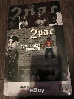 Tupac 2pac Action Figure Doll Rare NEW GREAT SHAPE