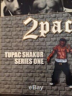 Tupac Shakur Action Figure Doll, Rare 2001 All Entertainment 2pac Series 1