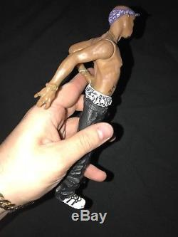 Tupac Shakur Action Figure Doll, Rare 2001 All Entertainment 2pac Series 1