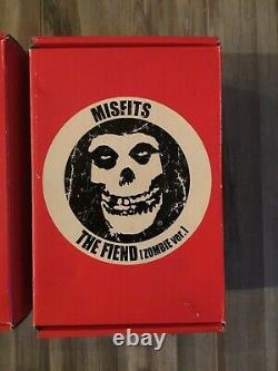 Ultra Rare Misfits Figures Jerry Only, The Fiend, And Doyle (Zombie Version)