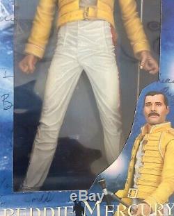 Unopen 2006 Neca Freddie Mercury Queen 18 Figure WithSound SEE PICS RARE
