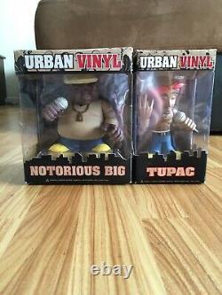 Urban Vinyl Tupac Biggie 2pac Notorious B. I. G