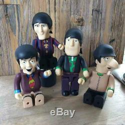 Used BABYBEAR Beatles Yellow Submarine B@BYBEAR Kubrick be@rbrick Bearbrick Set