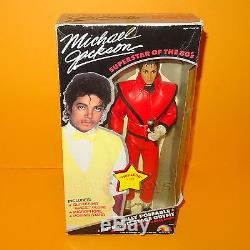 VINTAGE 1984 80s LJN TOYS MICHAEL JACKSON THRILLER OUTFIT 12 DOLL BOXED RARE