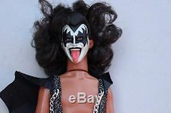 Vintage 1978 Kiss Gene Simmons Mego Action Figure Toy with Box