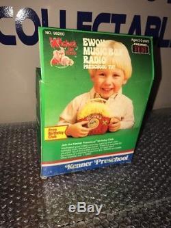Vintage 1984 Kenner Star Wars Ewoks Wicket the Ewok Music Box Factory Sealed