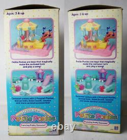 Vintage 1990 My Little Pony Petite Ponies Prancing Pretty Carousel Hasbro New