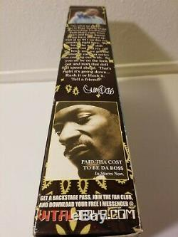 Vintage 2002 Vital Toys Snoop Dogg figure Awesome RAP Memorabilia RARE