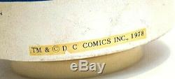 Vintage Batman ceramic Catwoman Music Box RARE 1978 figure TM & DC Comics
