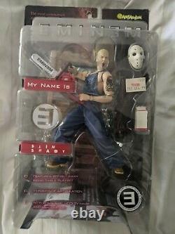 Vintage Eminem Slim Shady Action Figure Art Asylum Toy New In Box 2001 Perfect