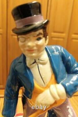 Vntg Batman The Penguin Ceramic Revolving Musical Figure, Raindrops, 1978 In Box
