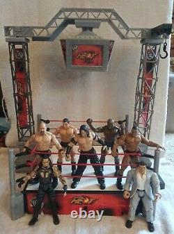 WWE/WWF Sunday Night Heat Talking RingTitan Tron Live2000 Jakks Pacific-RARE