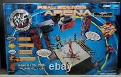WWF Jakks Pacific Real Sounds Arena, New In Box Factory Sealed Ultra Rare