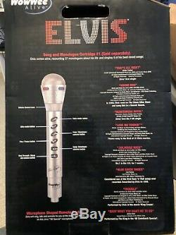 WowWee Alive Elvis ANIMATRONIC SINGING AND TALKING LIFESIZE BUST in Box Robot
