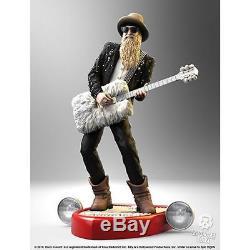 ZZ Top-Billy F Gibbons Rock Iconz Statue-KNUBGIB100
